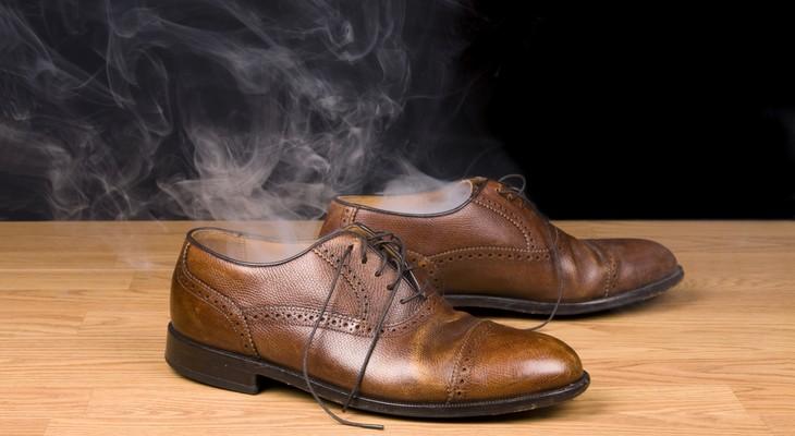 от запаха в обуви