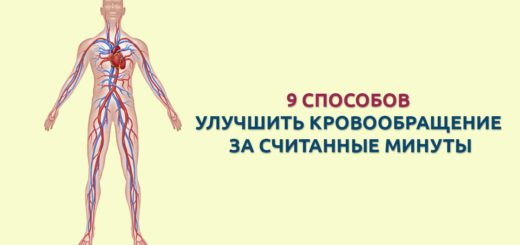 как улучшить кровообращение